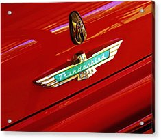 Classic Ford Thunderbird Emblem Acrylic Print