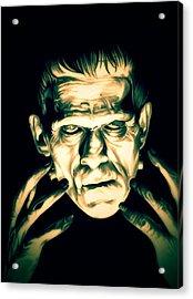 Classic Frankenstein Acrylic Print