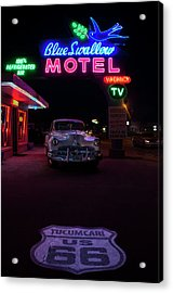 Classic Hotel Acrylic Print by Brendan Quinn