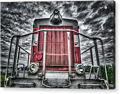 Acrylic Print featuring the photograph Classic Locomotive by Spencer McDonald
