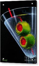 Classic Martini Acrylic Print by Michael Godard