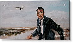 Classic Movies Cary Grant North By Northwest Acrylic Print