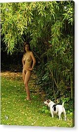 Classic Nude And Companion  Acrylic Print