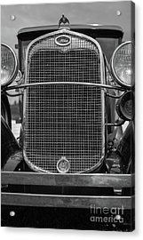 Acrylic Print featuring the photograph Classic Old Ford Car Model A by Edward Fielding