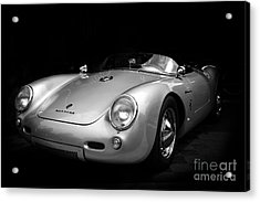 Classic Porsche Acrylic Print by Perry Webster