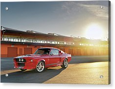 Classic Recreations Shelby Gt500cr Acrylic Print by Drew Phillips