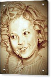 Classic Shirley Temple Acrylic Print
