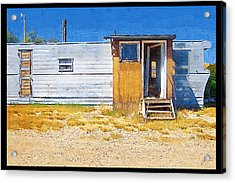 Acrylic Print featuring the photograph Classic Trailer by Susan Kinney