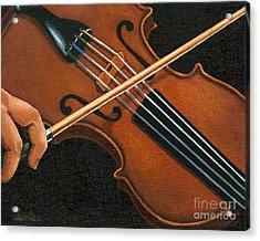 Classic Violin Acrylic Print