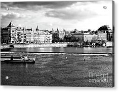 Acrylic Print featuring the photograph Classic Vltava River by John Rizzuto