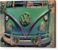 Classic Vw Bus Acrylic Print