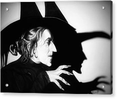 Classic Wicked Witch Of The West Acrylic Print