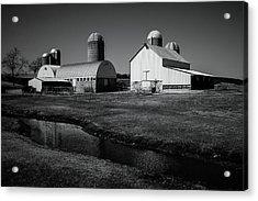 Classic Wisconsin Farm Acrylic Print