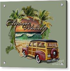 Classic Woody Acrylic Print