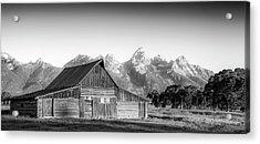 Classic Wyoming Acrylic Print by Peter Irwindale