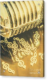 Classical Golden Oldies Acrylic Print