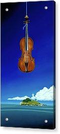 Classical Seascape Acrylic Print