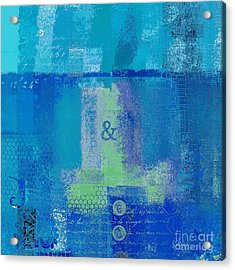 Acrylic Print featuring the digital art Classico - S03c06 by Variance Collections