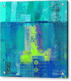 Acrylic Print featuring the digital art Classico - S03c26 by Variance Collections