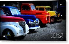 Classics Acrylic Print by Perry Webster
