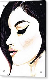Classy Lady Acrylic Print