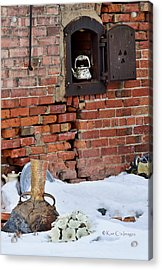 Acrylic Print featuring the photograph Classy Pottery Remnants by Kae Cheatham