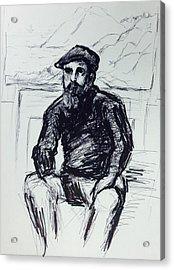 Claude Monet Acrylic Print