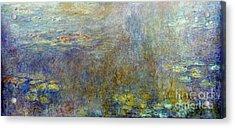 Claude Monet: Waterlilies Acrylic Print by Granger
