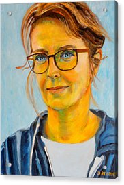 Claudia-portrait Acrylic Print