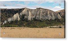 Acrylic Print featuring the photograph Clay Cliffs Omarama by Gary Eason