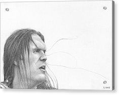 Clay Matthews Acrylic Print by Rick Yanke