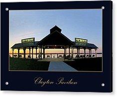 Clayton Pavilion Acrylic Print