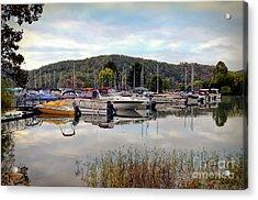 Acrylic Print featuring the photograph Claytor Lake Marina by Kerri Farley