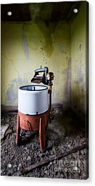 Cleaning Lady Has The Day Off Acrylic Print by Royce Howland