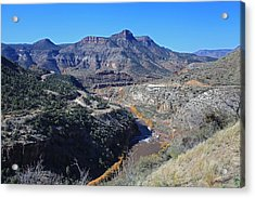 Acrylic Print featuring the photograph Clear And Rugged by Gary Kaylor