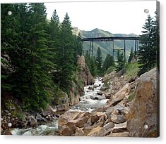 Clear Creek Colorado Acrylic Print