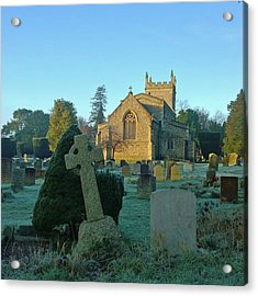 Clear Light In The Graveyard Acrylic Print
