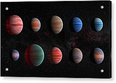 Clear To Cloudy Hot Jupiters Acrylic Print