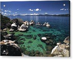 Clear Water Lake Tahoe Acrylic Print by Vance Fox
