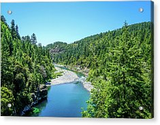 Clear Waters Acrylic Print by Ric Schafer