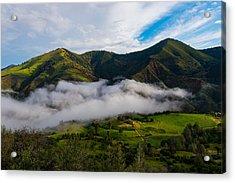 Clearing Storm, Figueroa Mountain Acrylic Print
