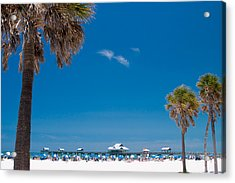 Clearwater Beach Acrylic Print by Adam Romanowicz