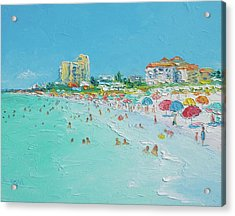 Clearwater Beach Florida Acrylic Print