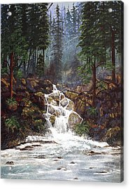 Clearwater Falls Acrylic Print