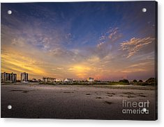 Clearwater Intercoastal Acrylic Print by Marvin Spates