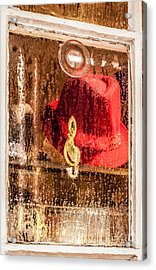 Clef And Hat Acrylic Print