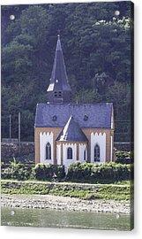 Clemenskapelle Trechtingshausen Acrylic Print