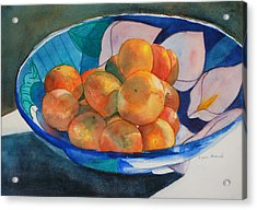 Clementines Acrylic Print