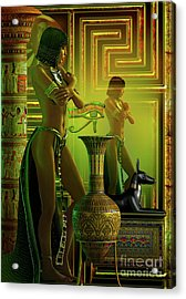 Cleo Reflections Acrylic Print by Shadowlea Is