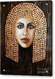Cleopatra Acrylic Print by Arturas Slapsys